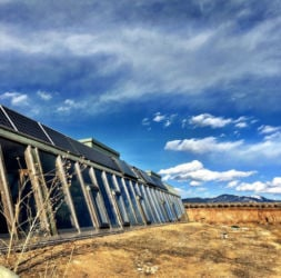 Our favorite Earthship to rent in the desert.