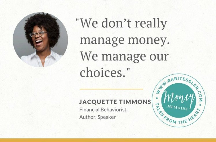 Money Memoirs: Jacquette Timmons